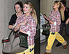 Photos of Jessica Simpson Arriving at LAX Talking About Sharing Her Gift
