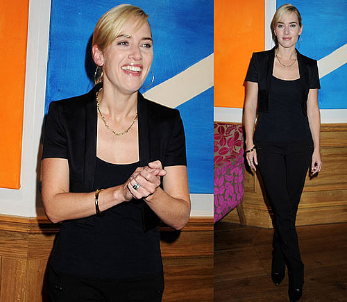 Photos of Kate Winslet at a Screening of The Reader in London