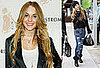Photos of Lindsay Lohan Promoting Leggings and Shopping
