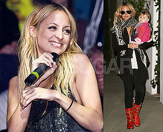 Photos of Nicole Richie Holding Harlow in LA, Nicole Richie in Moscow