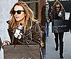 Photos of Lindsay Lohan Shopping at Maxfield's