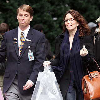 Tina Fey and Jack McBrayer Film 30 Rock