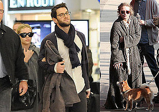 Photos of Mary-Kate Olsen, Ashley Olsen and Boyfriend Justin Bartha Out in LA