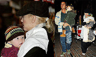Photos of Gwen Stefani Shopping With Gavin, Kingston, and Zuma