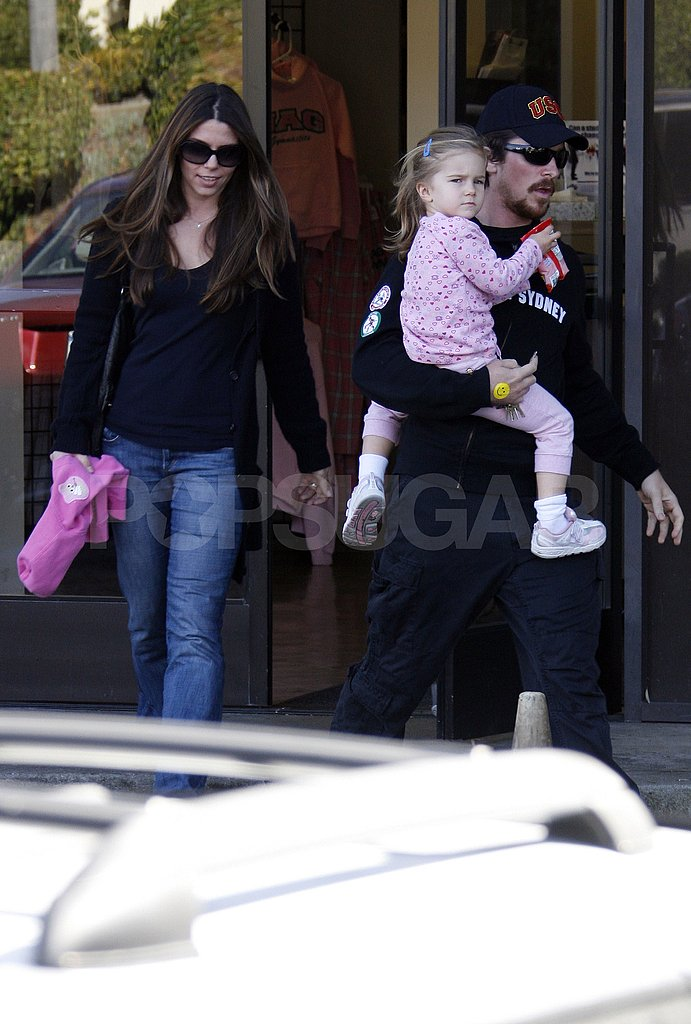 Christian Bale with the Family