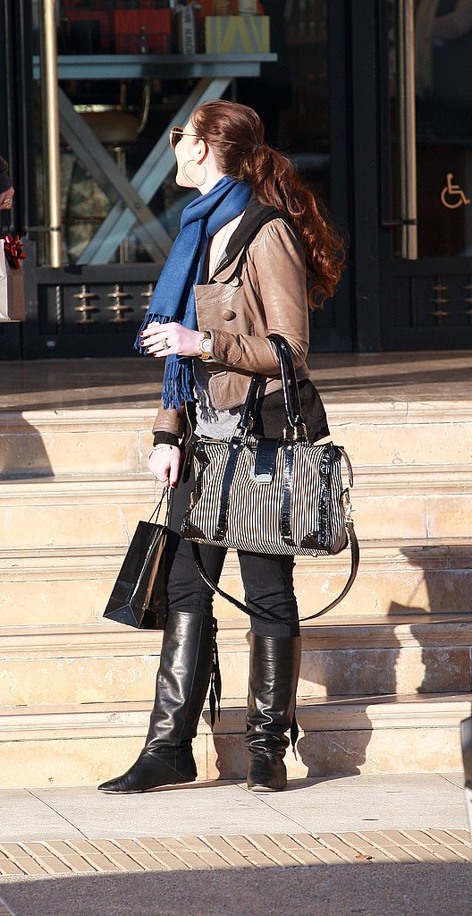 Michelle Trachtenberg Hits Barneys in LA
