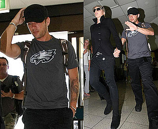 Photos of Ryan Phillippe at Sydney Airport in Australia