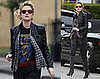 Photos of Drew Barrymore out in LA 2008-12-29 13:30:28