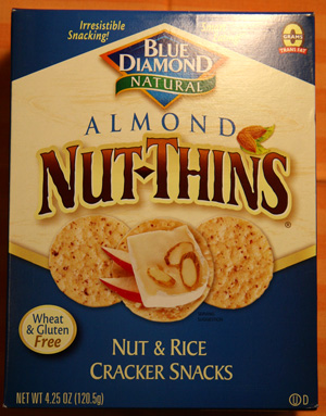 Food Review: Almond Nut-Thins
