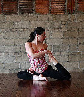 Yoga Pose of the Week:  Pigeon Twist