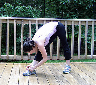 Fit Tip: Stretch Your Hamstrings While Tying Your Shoes