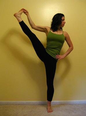 Strike a Yoga Pose: Standing Hand to Big Toe Series