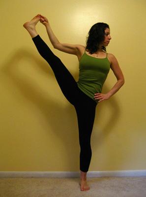 Strike a Yoga Pose: Standing Hand to Big Toe Series