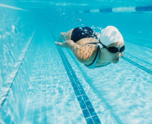 Swim Tip: Make One of Your Laps All About Your Legs