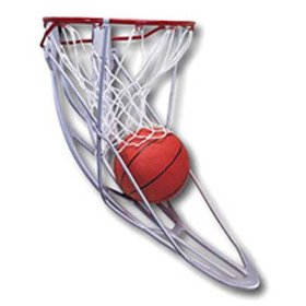 Ball Return Hoop Attachment