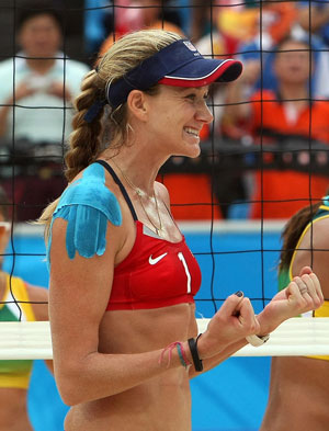 What's the Deal With Kerri Walsh's Shoulder Tape?
