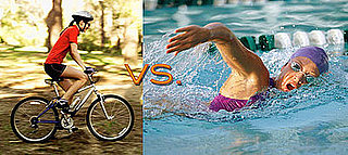 Biking vs. Swimming