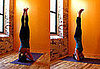 Strike a Yoga Pose: Pinching Shoulders Headstand