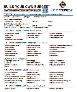 The Counter: Healthier Burgers You Custom Build
