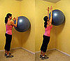 Get on the Ball: Shoulder Wall Roll