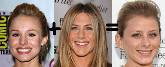 "Kristin Bell + Jennifer Aniston = Lauren ""Lo"" Bosworth"