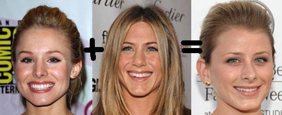 "Kristin Bell + Jennifer Aniston = Lauren ""Lo"" Bosworth"