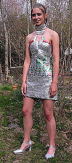 Teen Makes Prom Dress Out of Gum Wrappers