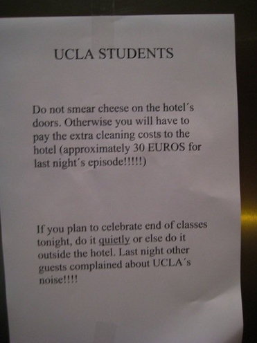UCLA Students Sure Know How to PARTAY!