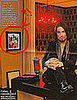 Dave Navarro in InTouch Next to a John Wayne Gacy Painting