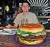 Man Eats 15-Pound Burger: Cool or Gross?