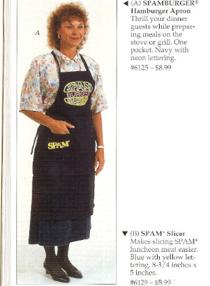 Flashback: Spam Gift Catalog