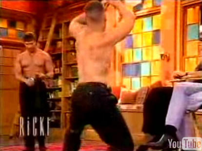Flashback: Male Strippers on The Ricki Lake Show