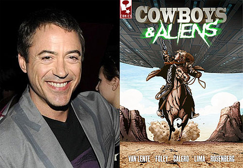 Robert Downey Jr. in Cowboys and Aliens