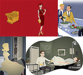 These Mad Men Illustrations Are the Bee's Knees