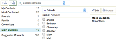 Create Groups in Gmail