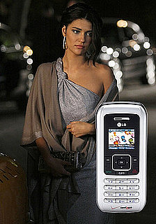 Vanessa's Cell Phone on Gossip Girl is a Silver LG eNV