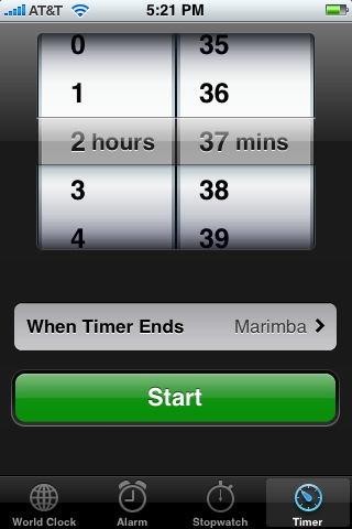 Your iPhone's Timer!