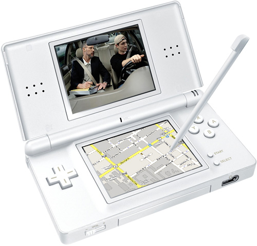 Driver's Education Comes to the Nintendo DS Portable Gaming Device