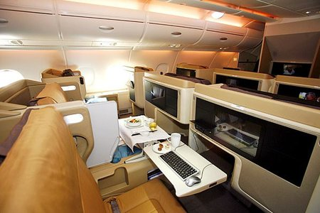Singapore Airlines Adds TV's, iPod Docks and Widescreen LCDs to Business Class