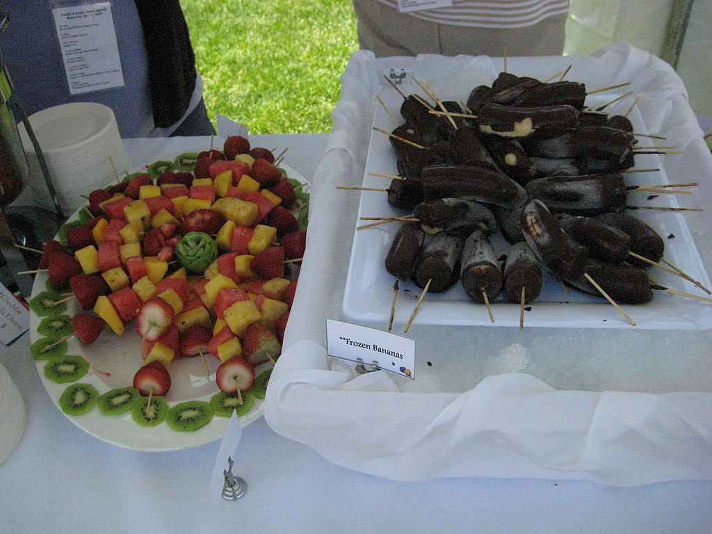 Oh, and Chocolate Covered Bananas!
