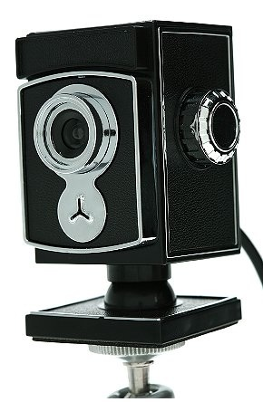 Old-Fashioned Webcam