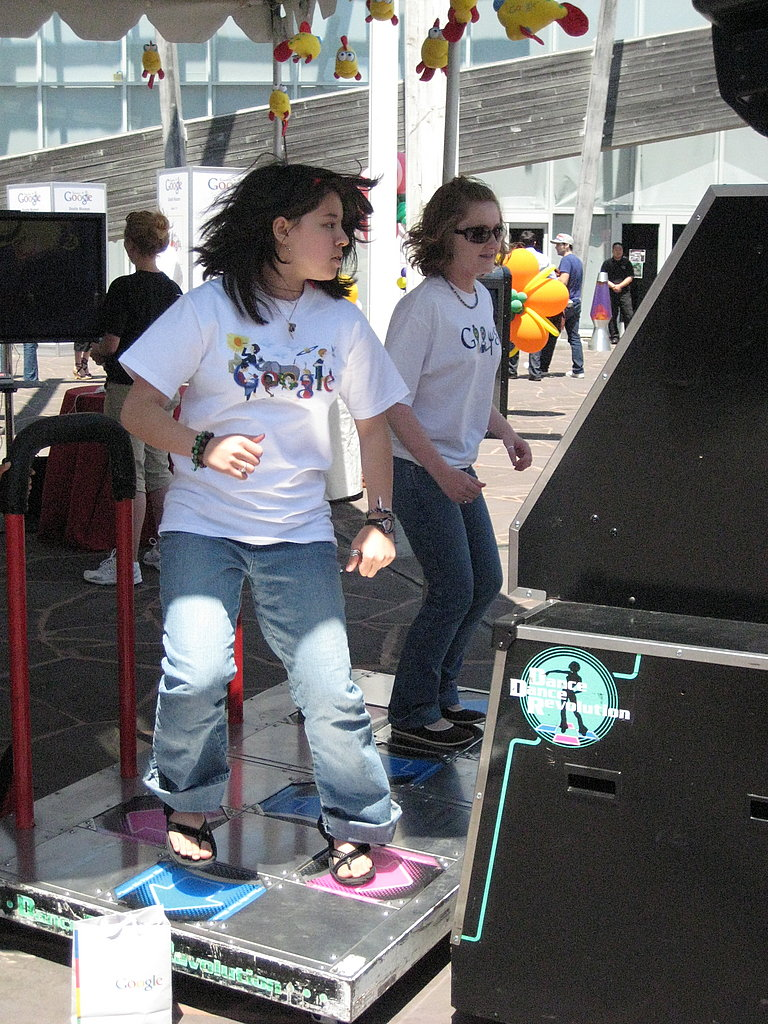 And Dance Dance Revolution!