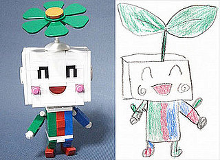 Daily Tech: Lego Designer Creates a Robot Based on Son's Drawing