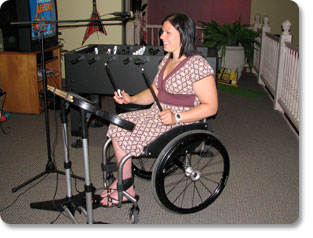 How To Modify Rock Band Video Game So That People in Wheelchairs Can Play