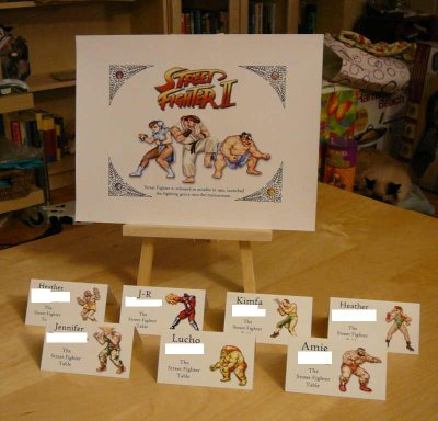 The Street Fighter II Table
