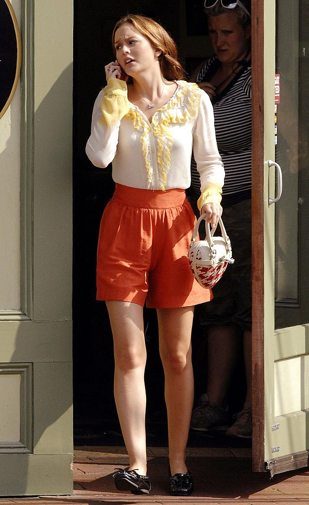 Blair on her orange LG enV
