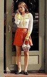 Blair on her orange LG enV