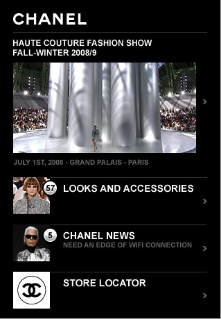 Chanel Joins the App Store!