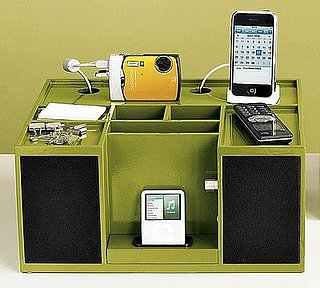 Pottery Barn Combines a Charging Station with iPod Speakers