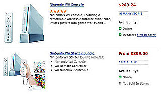 Nintendo Wiis In Stock at Walmart